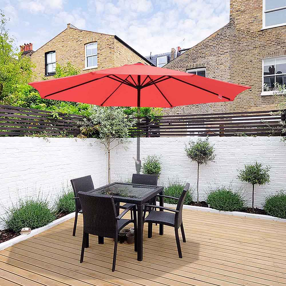 thumbnail 73 - 8'/9'/10'/13' Umbrella Replacement Canopy 8 Rib Outdoor Patio Top Cover Only Opt