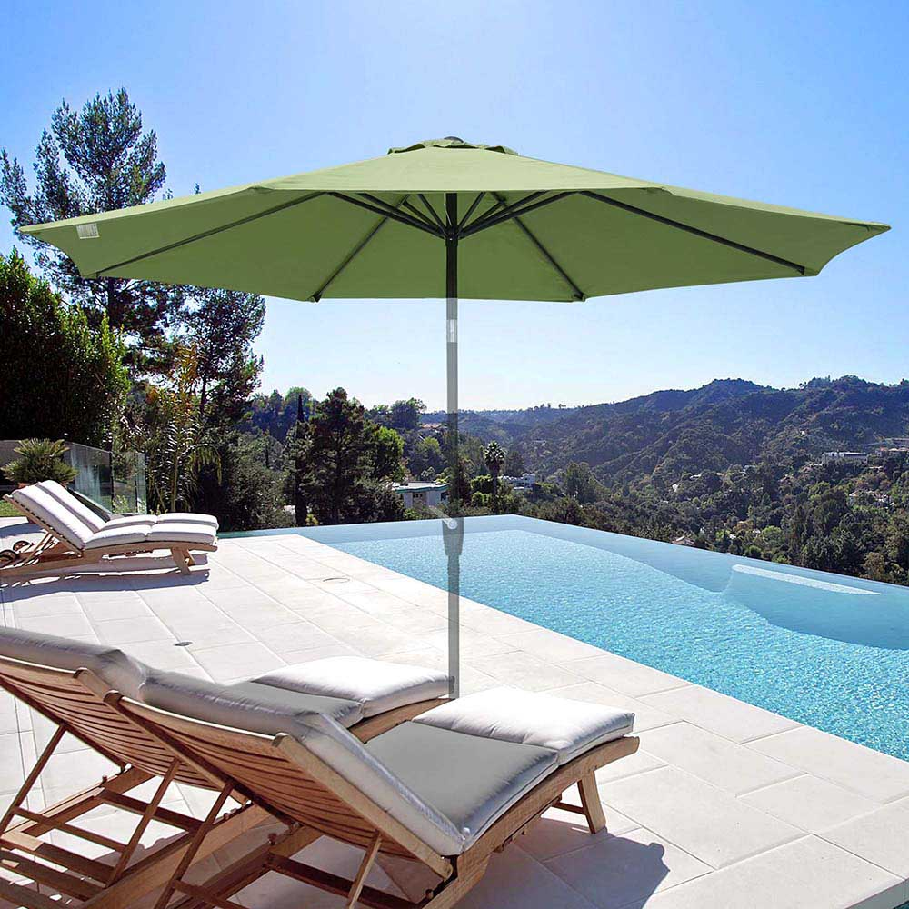 thumbnail 66 - 8'/9'/10'/13' Umbrella Replacement Canopy 8 Rib Outdoor Patio Top Cover Only Opt