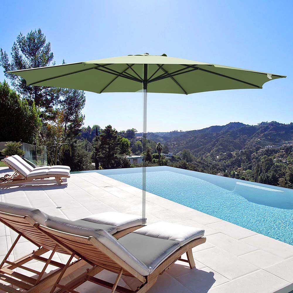 thumbnail 308 - 8'/9'/10'/13' Umbrella Replacement Canopy 8 Rib Outdoor Patio Top Cover Only Opt