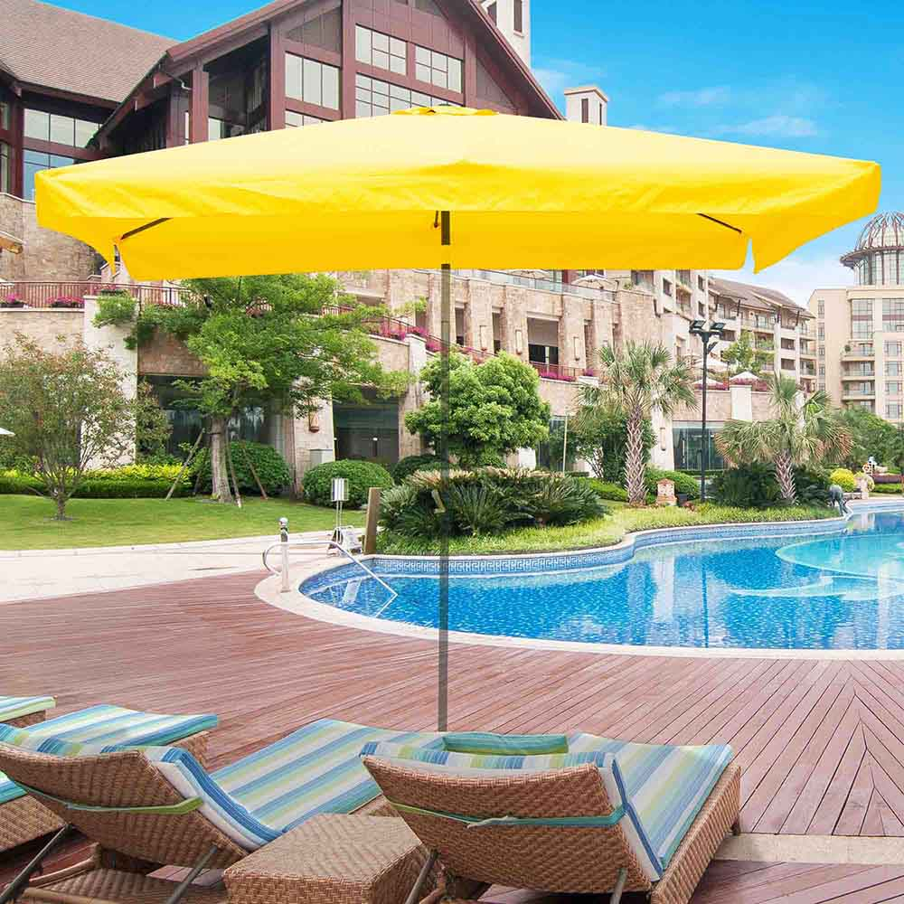 thumbnail 161 - 8'/9'/10'/13' Umbrella Replacement Canopy 8 Rib Outdoor Patio Top Cover Only Opt