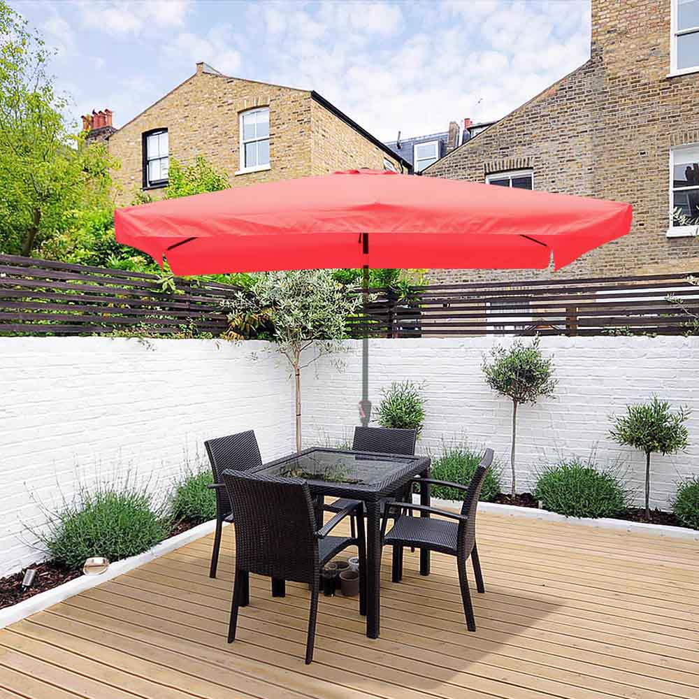 thumbnail 210 - 8'/9'/10'/13' Umbrella Replacement Canopy 8 Rib Outdoor Patio Top Cover Only Opt