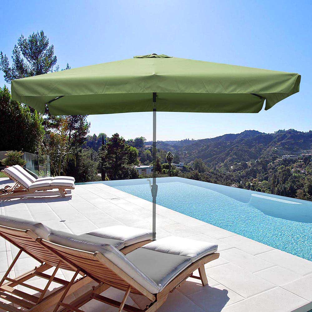 thumbnail 198 - 8'/9'/10'/13' Umbrella Replacement Canopy 8 Rib Outdoor Patio Top Cover Only Opt