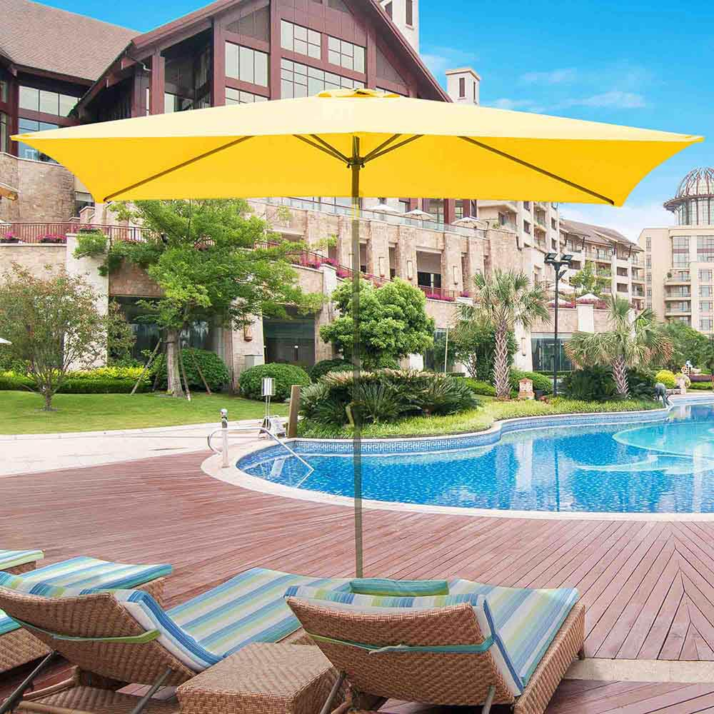 thumbnail 168 - 8'/9'/10'/13' Umbrella Replacement Canopy 8 Rib Outdoor Patio Top Cover Only Opt