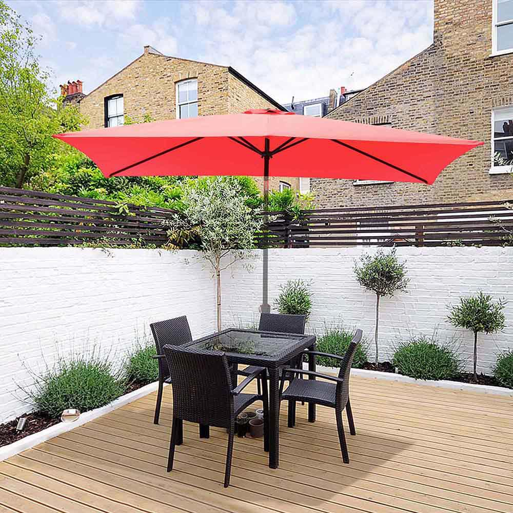 thumbnail 217 - 8'/9'/10'/13' Umbrella Replacement Canopy 8 Rib Outdoor Patio Top Cover Only Opt