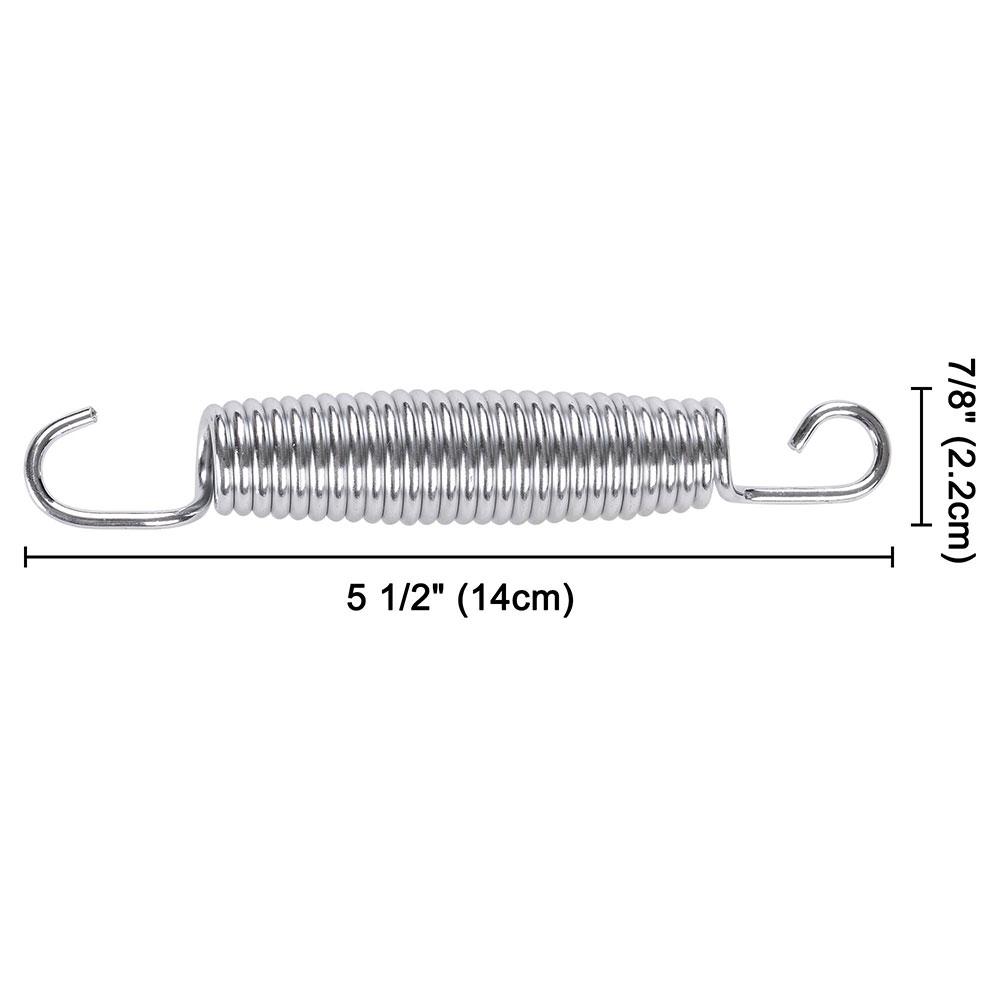 20x-Trampoline-Springs-5-3-034-7-034-8-5-034-Heavy-Duty-Galvanized-Steel-Replacement-Kit miniature 6