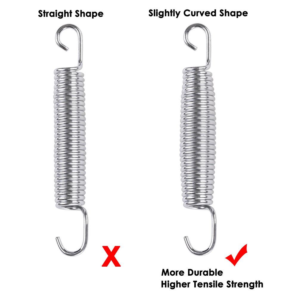 20x-Trampoline-Springs-5-3-034-7-034-8-5-034-Heavy-Duty-Galvanized-Steel-Replacement-Kit miniature 4