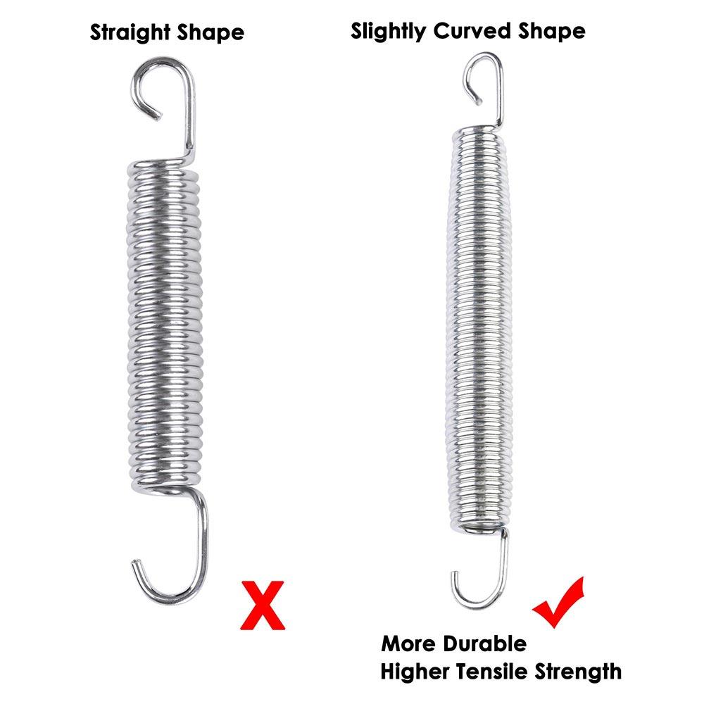 20x-Trampoline-Springs-5-3-034-7-034-8-5-034-Heavy-Duty-Galvanized-Steel-Replacement-Kit miniature 14