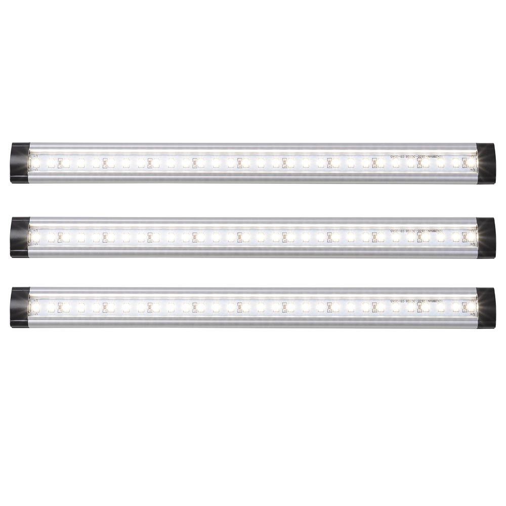 3pcs-Kitchen-Under-Cabinet-Shelf-Counter-LED-Light-Bar-1440lm-Lighting-Kit-Lamp thumbnail 3