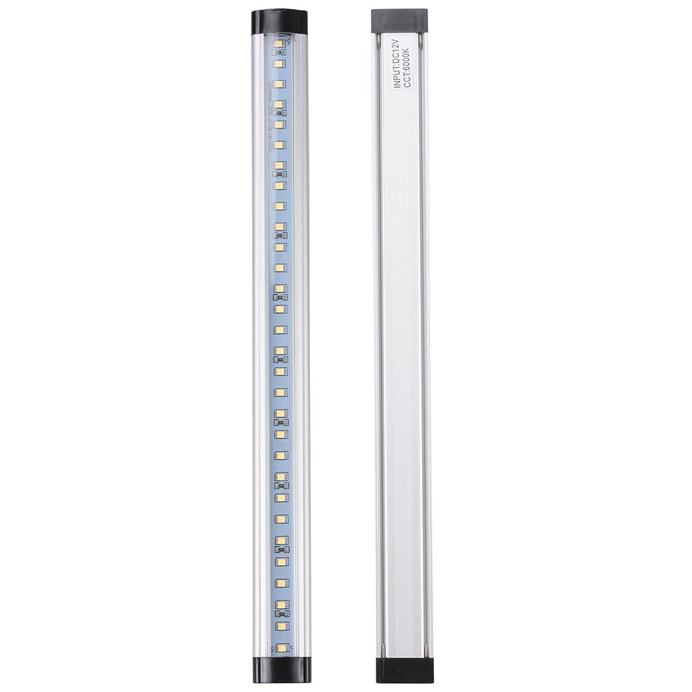 3pcs-Kitchen-Under-Cabinet-Shelf-Counter-LED-Light-Bar-1440lm-Lighting-Kit-Lamp thumbnail 5