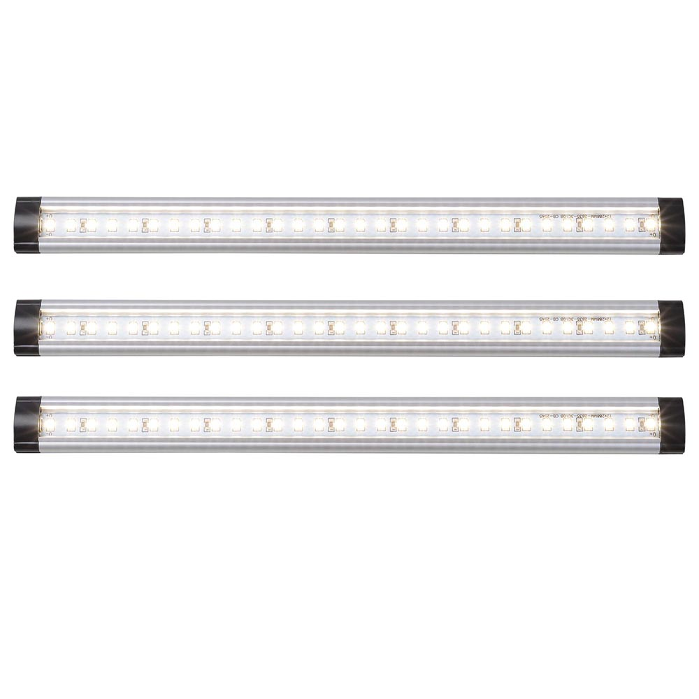 3pcs-Kitchen-Under-Cabinet-Shelf-Counter-LED-Light-Bar-1440lm-Lighting-Kit-Lamp thumbnail 12