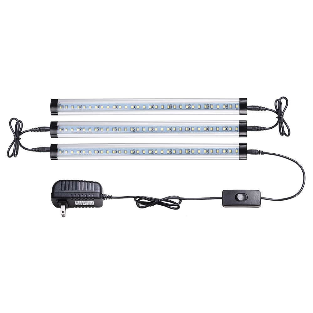 3pcs-Kitchen-Under-Cabinet-Shelf-Counter-LED-Light-Bar-1440lm-Lighting-Kit-Lamp thumbnail 15
