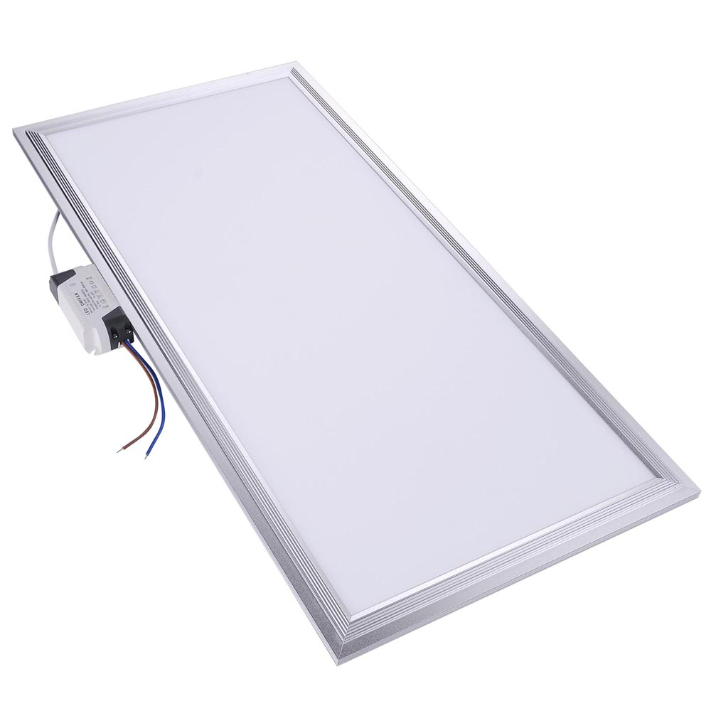 Indoor Ceiling Lights: 12W 24W 48W Ultra-thin LED Recessed Ceiling Panel Down