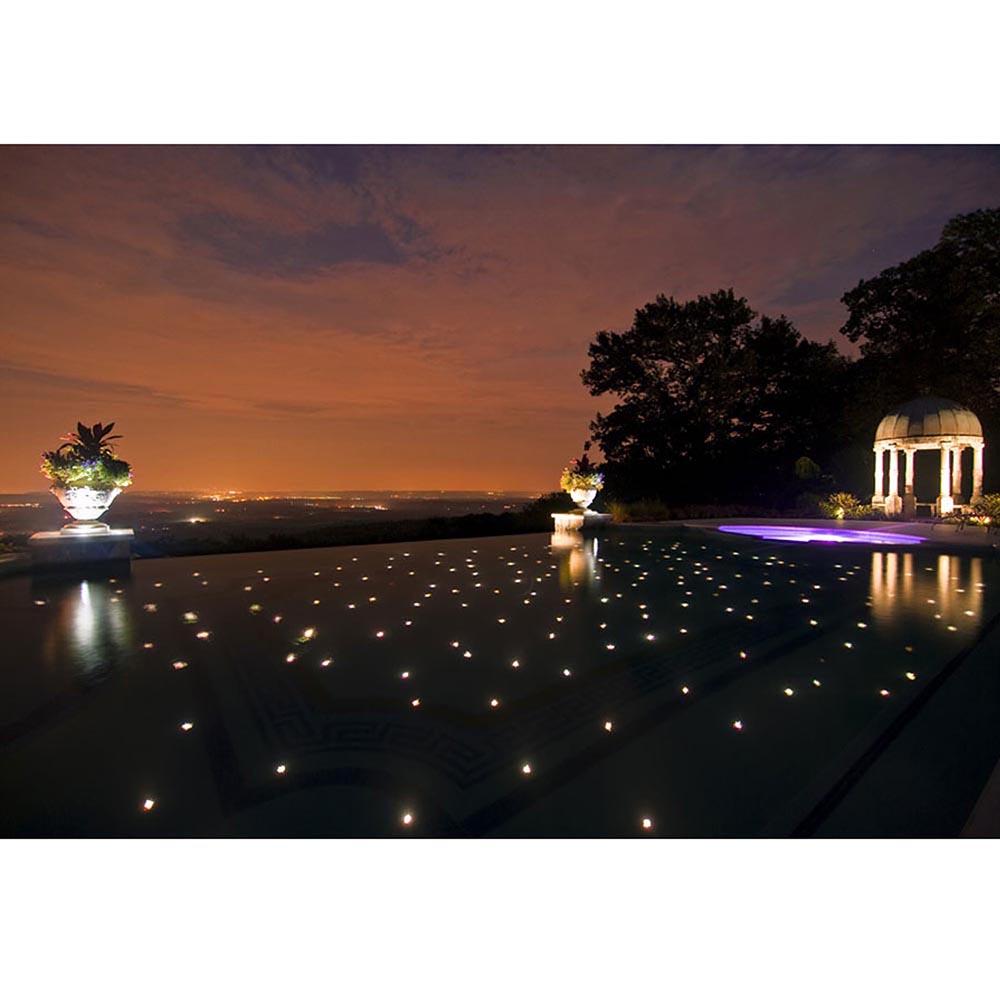 15pcs-LED-Bulbs-Deck-Light-Garden-Stair-Yard-Mall-Outdoor-Landscape-Lamp-Kit-Opt