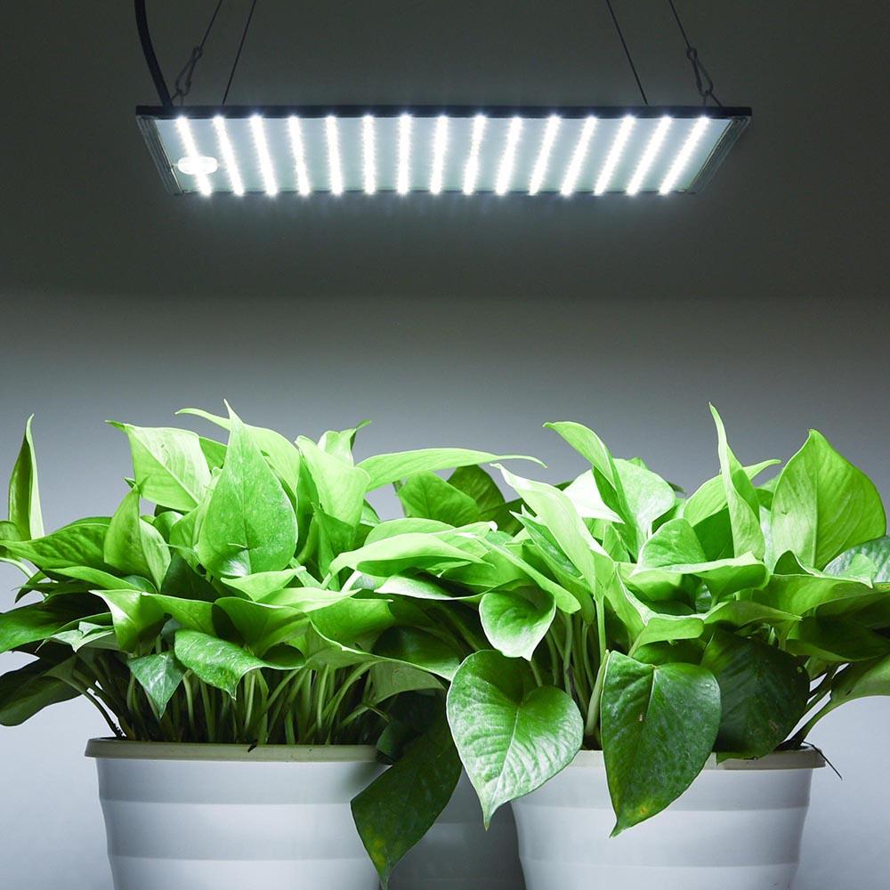 2pcs 225 LED Grow Light Lamp Ultrathin Panel Indoor Plant Flower Garden Lighting  eBay