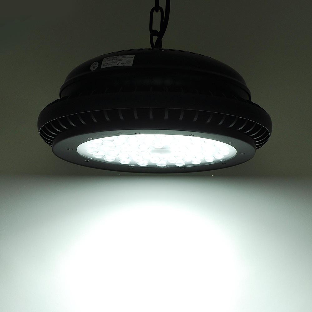 100W 150W 200W LED High Bay Light Warehouse Fixture