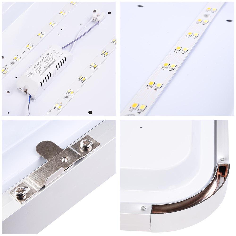 48 Best Kitchen Lighting Fixtures: LED Ceiling Light Flush Mount Fixture Lamp Bedroom Kitchen