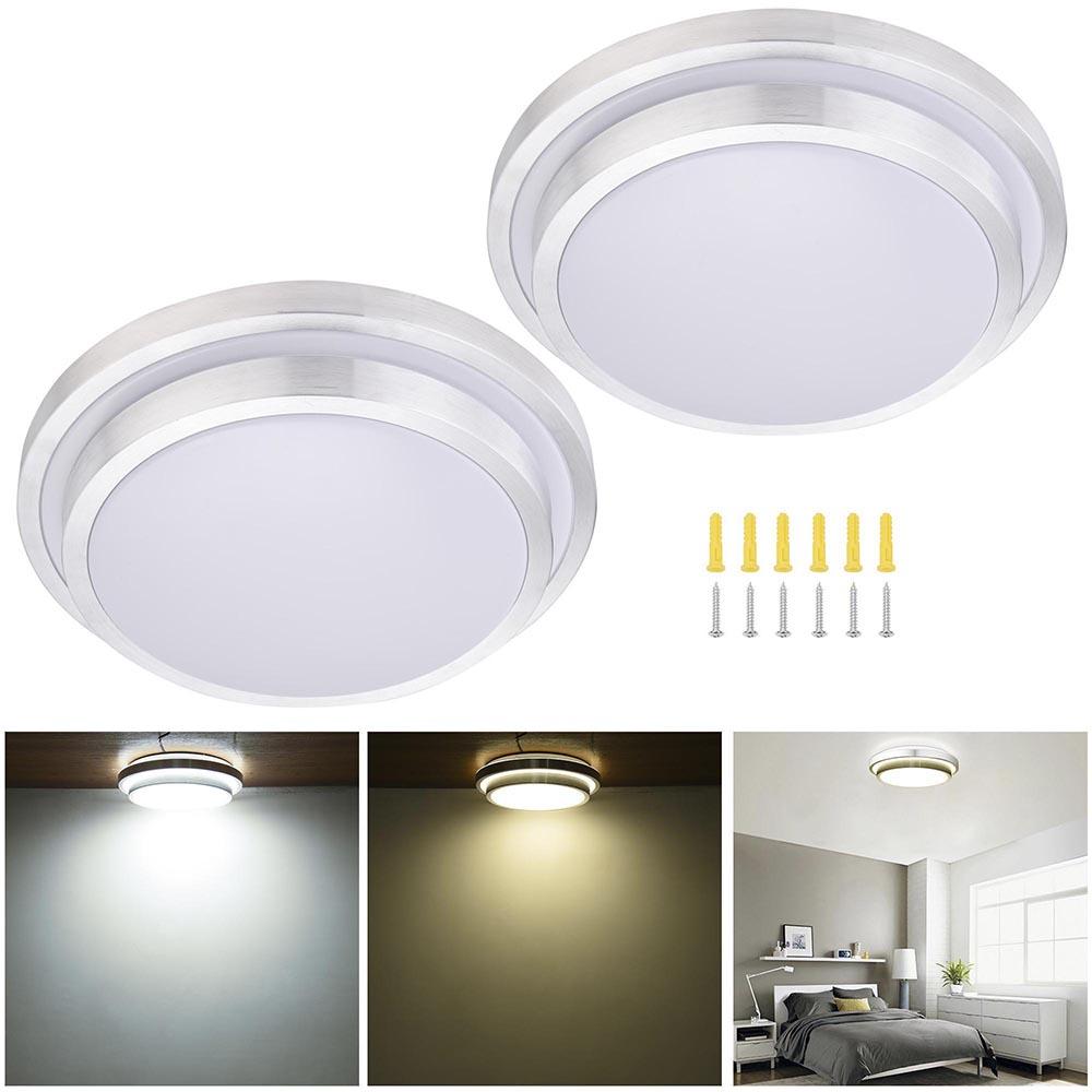 48w Flush Mount Led Pendant Light Ceiling Lamp Bedroom: LED Ceiling Light Flush Mount Fixture Lamp Bedroom Kitchen