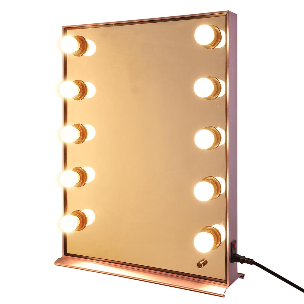 Details About Large Hollywood Makeup Lighted Vanity Mirror Dimmer Lights Stage Beauty Mirror