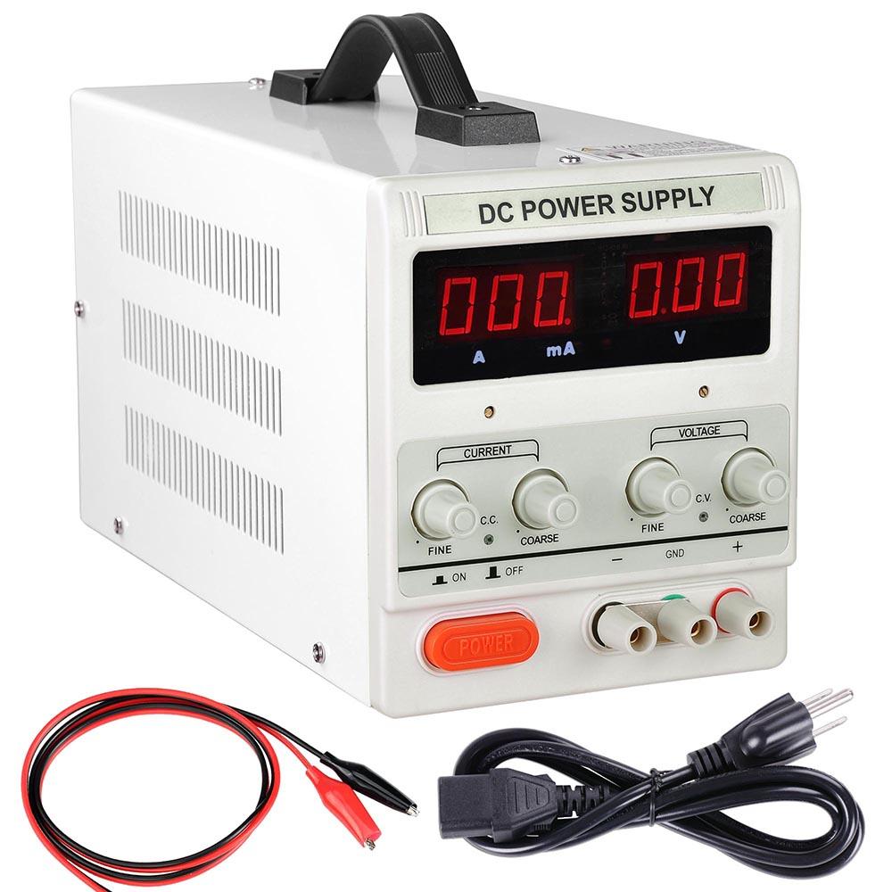 30v 5a Dc Power Supply Adjustable Dual Digital Variable Precision Voltage And Current Lab Grade 110v
