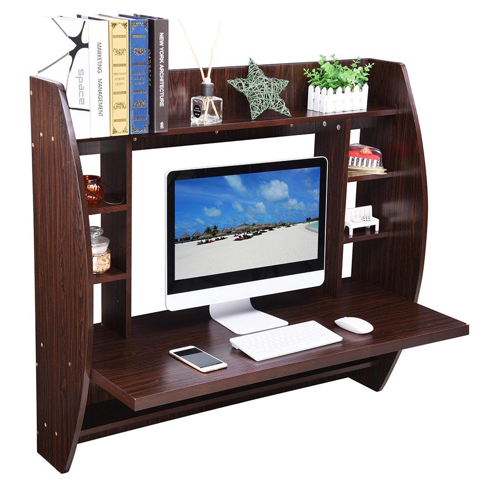 black computer shelf gy with desk grey and p furinno efficient home desks shelves