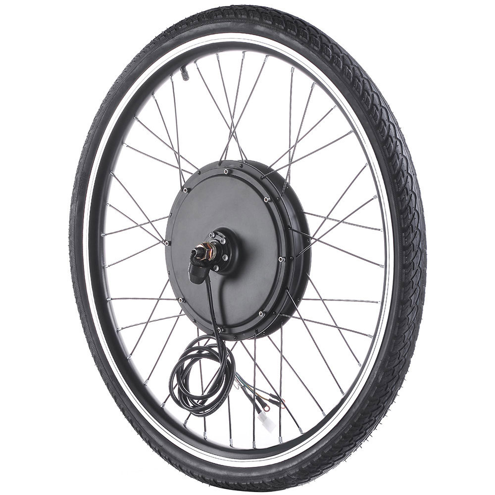 48V-1000W-Front-Rear-Wheel-Electric-Bicycle-Conversion-Kit-E-Bike-Cycling-Motor thumbnail 5