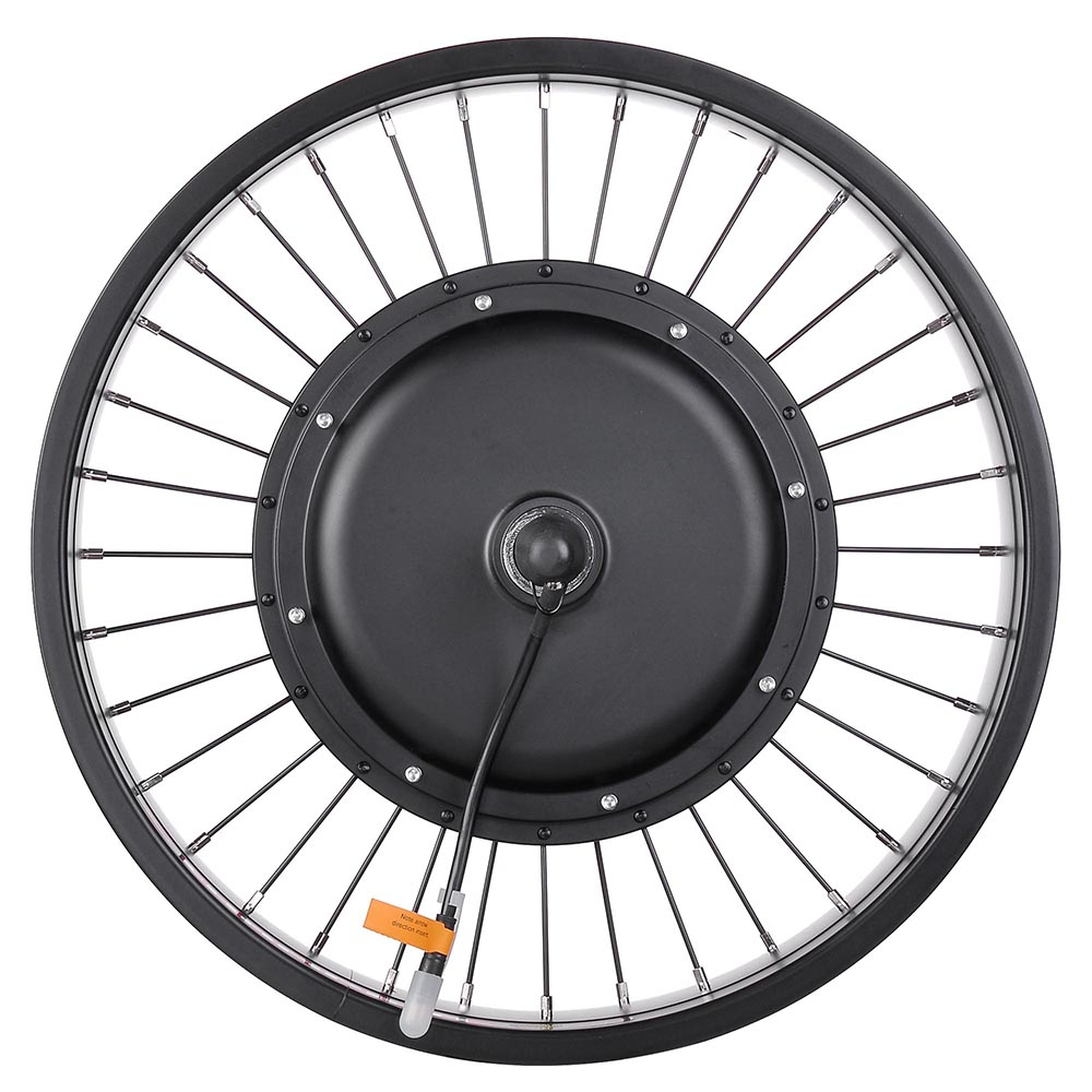 20-24-26-034-Front-Wheel-Electric-Bicycle-Motor-Conversion-Kit-Tire-750W-1000W thumbnail 3