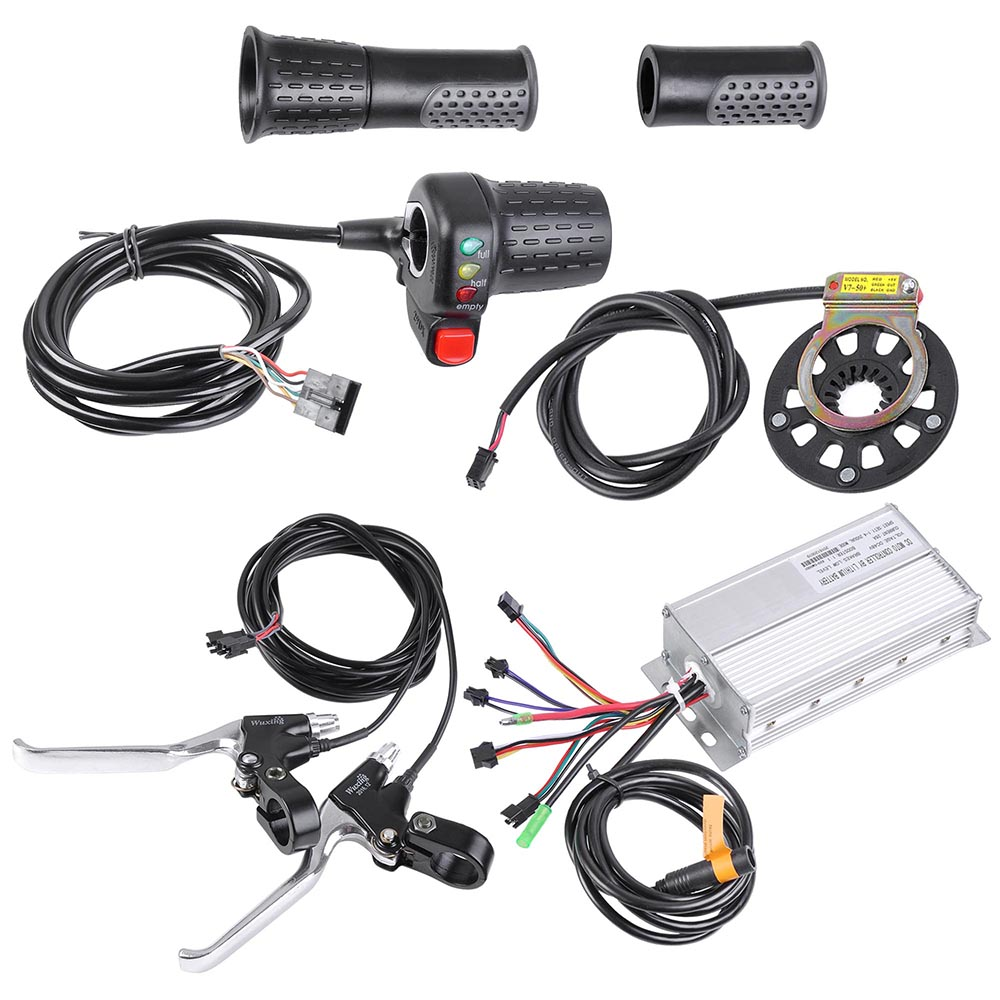 20-24-26-034-Front-Wheel-Electric-Bicycle-Motor-Conversion-Kit-Tire-750W-1000W thumbnail 9
