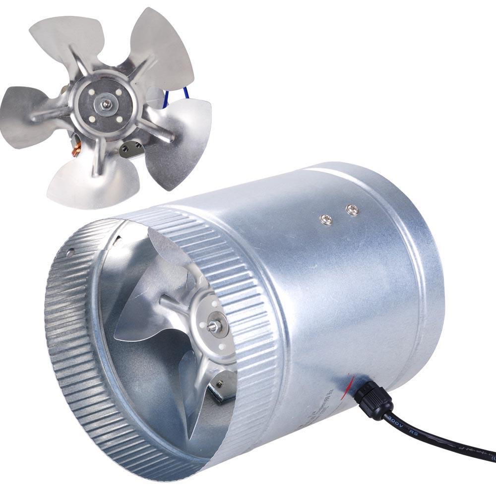 3 In Line Duct Fan Exhaust : Quot inch inline duct fan exhaust blower high cfm