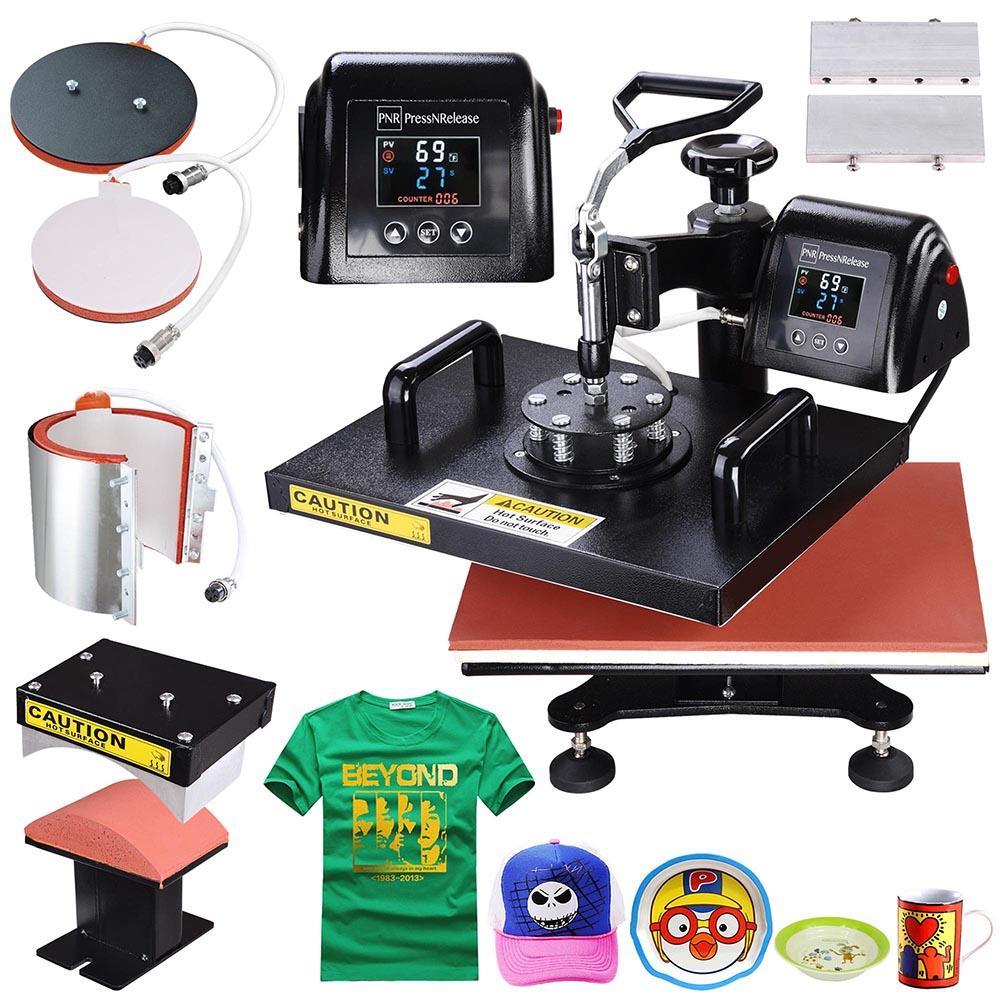 Heat Press Machine 12x15 Quot 15x15 Quot Digital Transfer