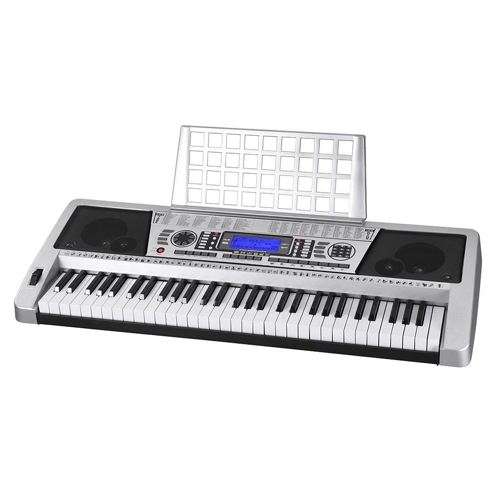 61-Key-Electric-Keyboard-Digital-Piano-Instrument-Kids-Talent-Practise-Xmas-Gift thumbnail 19