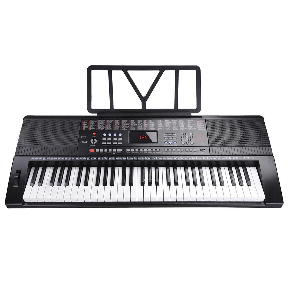 61-Key-Electric-Keyboard-Digital-Piano-Instrument-Kids-Talent-Practise-Xmas-Gift thumbnail 10