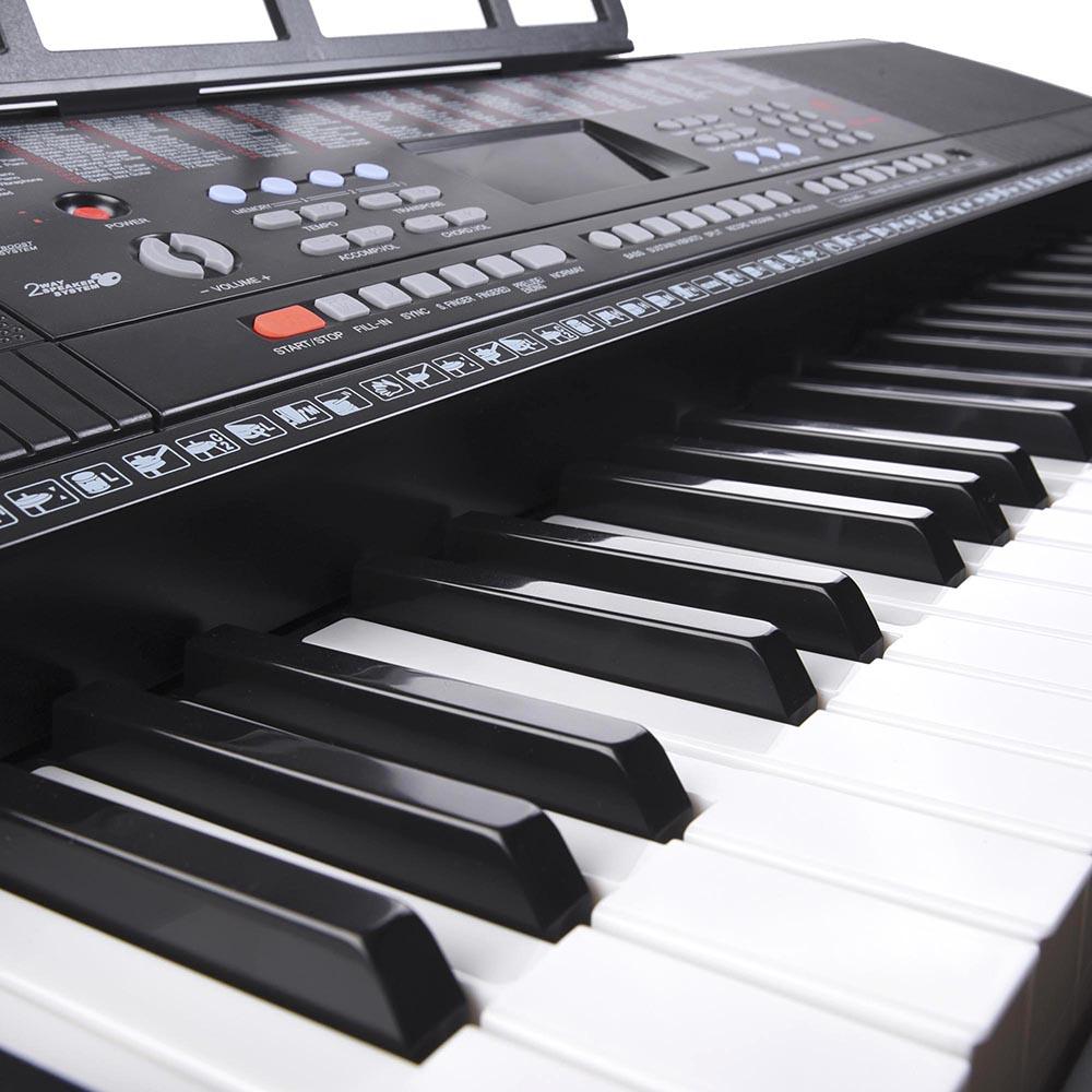 61-Key-Electric-Keyboard-Digital-Piano-Instrument-Kids-Talent-Practise-Xmas-Gift thumbnail 12