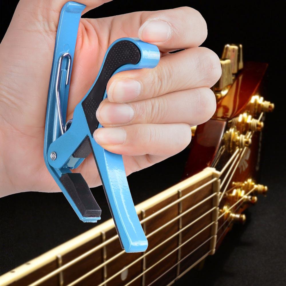Guitar Accessories Capo : guitar capo quick change tune acoustic guitar accessories trigger capo key clamp ebay ~ Russianpoet.info Haus und Dekorationen