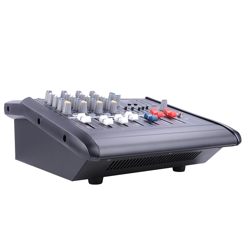 DJ-Studio-Power-Mixer-Amplifier-16DSP-LCD-Recording-USB-Slot-4-6-8-10-Channel miniature 10