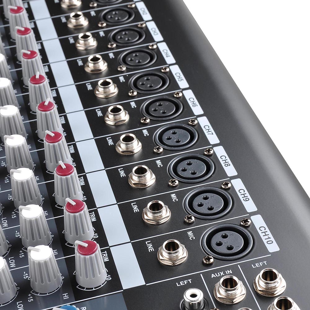 DJ-Studio-Power-Mixer-Amplifier-16DSP-LCD-Recording-USB-Slot-4-6-8-10-Channel miniature 32