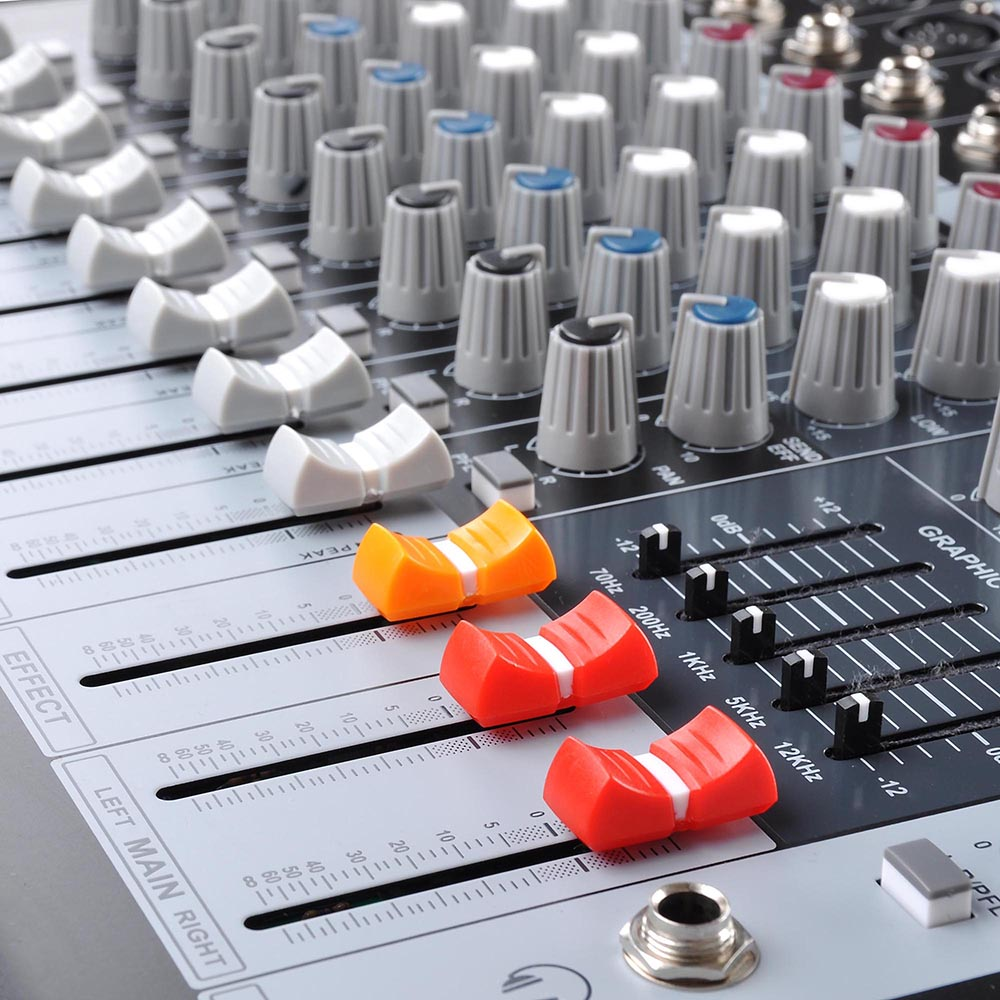 DJ-Studio-Power-Mixer-Amplifier-16DSP-LCD-Recording-USB-Slot-4-6-8-10-Channel miniature 43