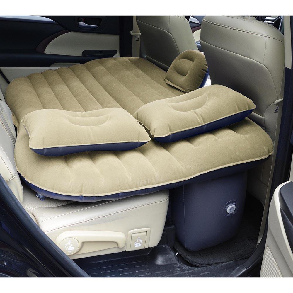 Inflatable Mattress Car Air Bed Backseat Cushion Travel ...