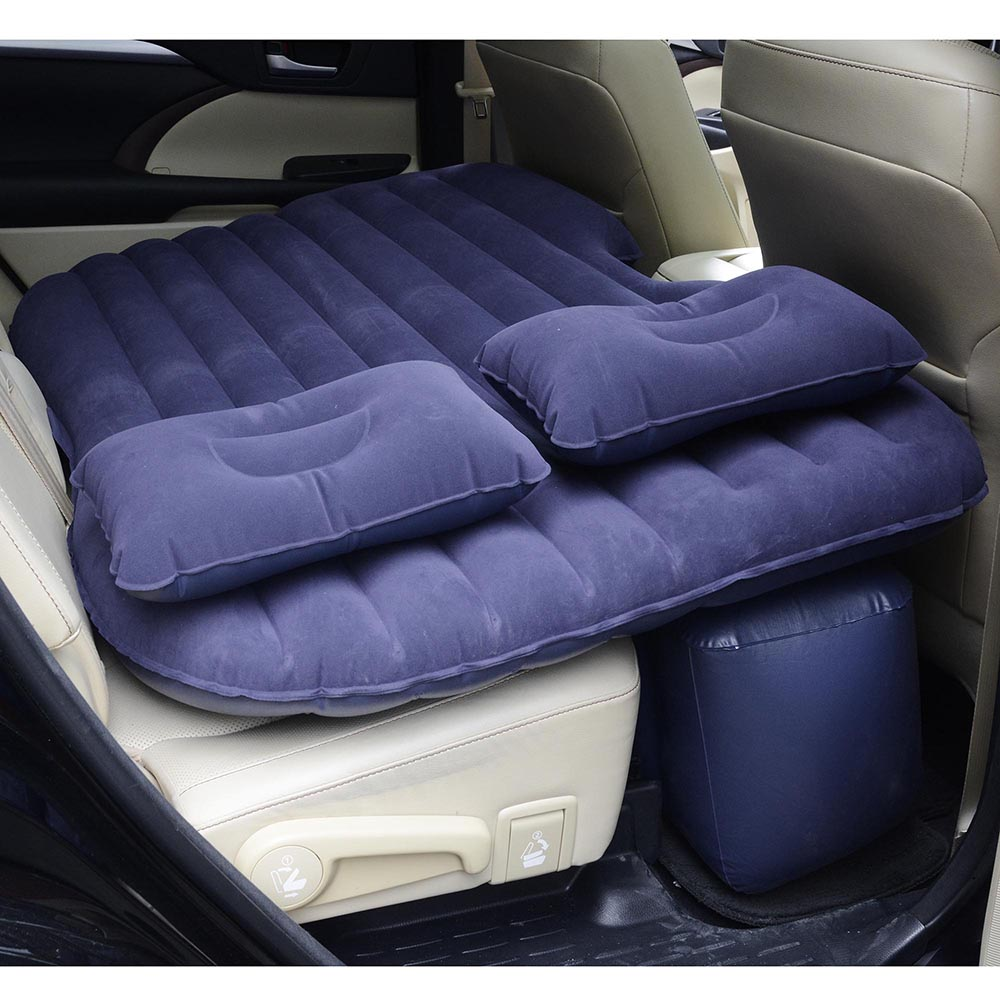 Universal-Inflatable-Mattress-Car-Air-Bed-Travel-Camping-Seat-Cushion-w-Pillows thumbnail 18
