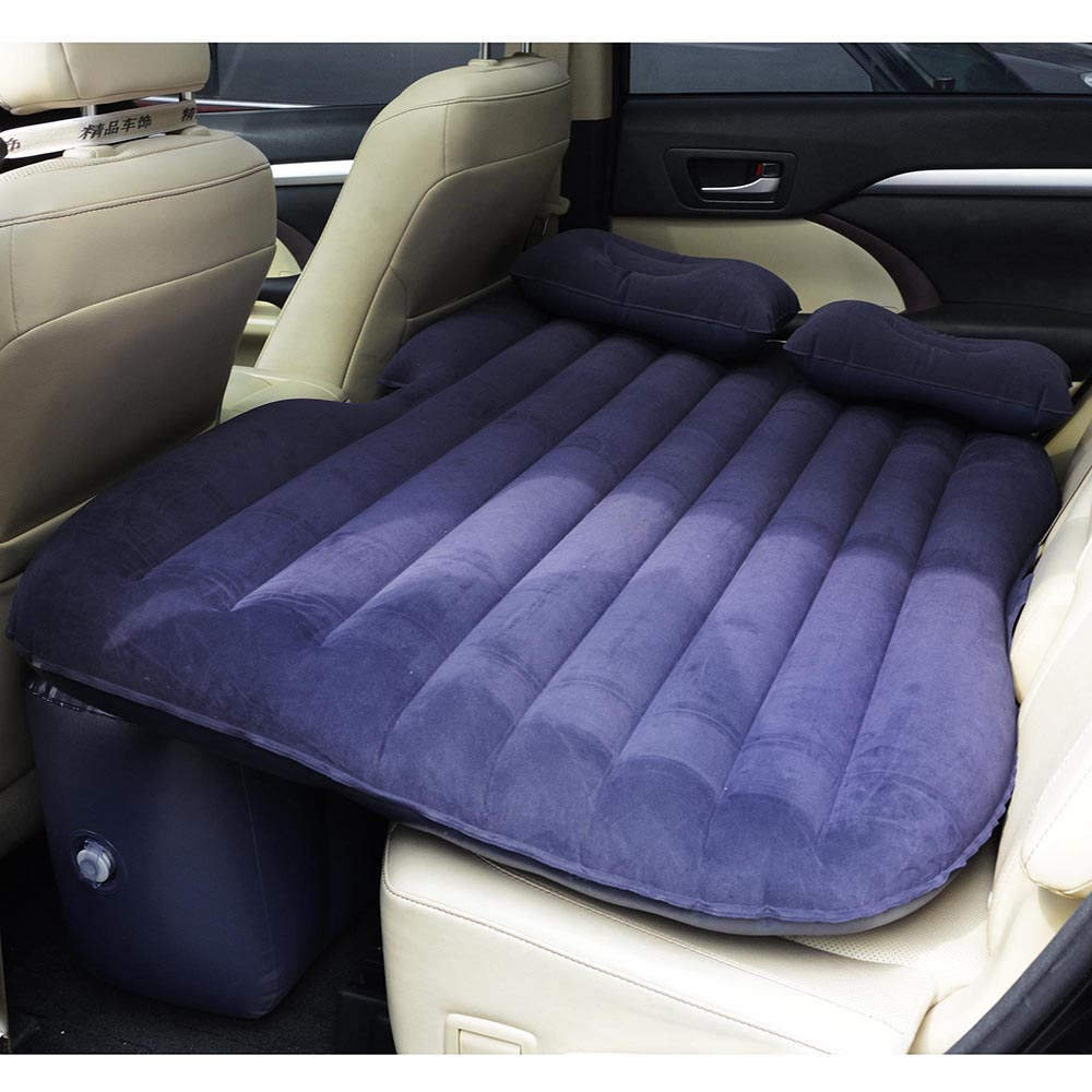 Universal-Inflatable-Mattress-Car-Air-Bed-Travel-Camping-Seat-Cushion-w-Pillows thumbnail 19