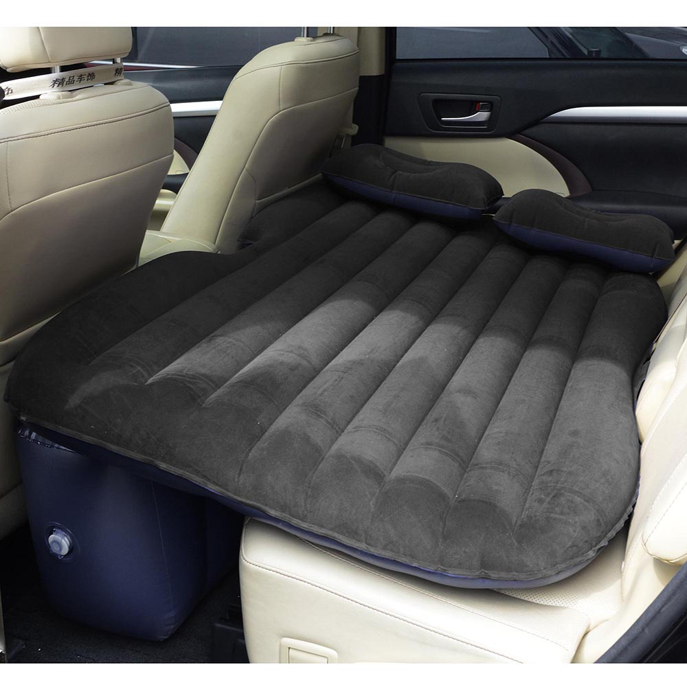 Universal-Inflatable-Mattress-Car-Air-Bed-Travel-Camping-Seat-Cushion-w-Pillows thumbnail 9
