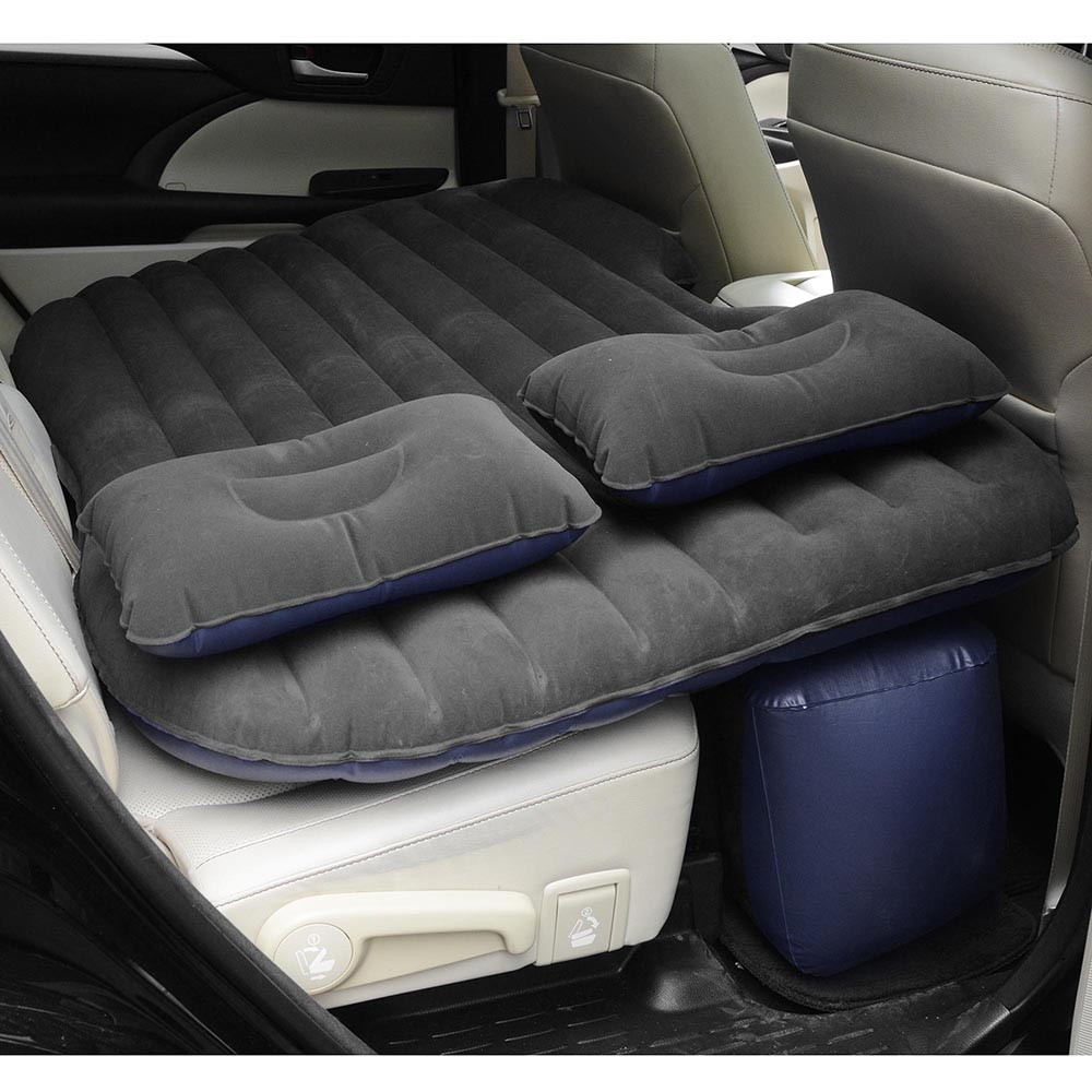 Universal-Inflatable-Mattress-Car-Air-Bed-Travel-Camping-Seat-Cushion-w-Pillows thumbnail 10