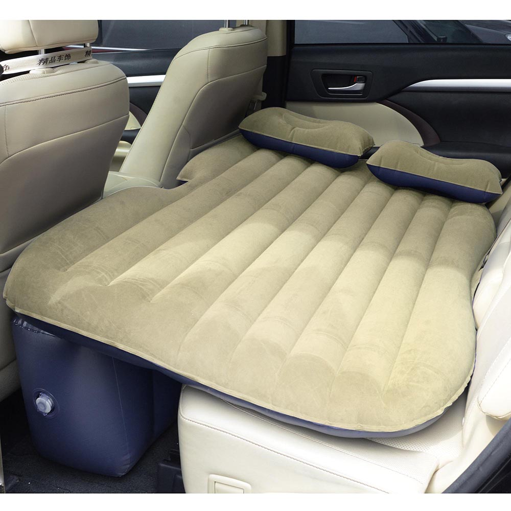 Universal-Inflatable-Mattress-Car-Air-Bed-Travel-Camping-Seat-Cushion-w-Pillows thumbnail 27