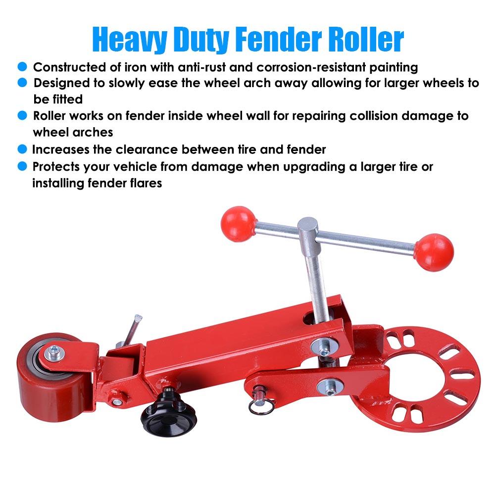 Roll Fender Reforming Tool Extending Wheel Arch Roller Flaring Former Heavy Duty