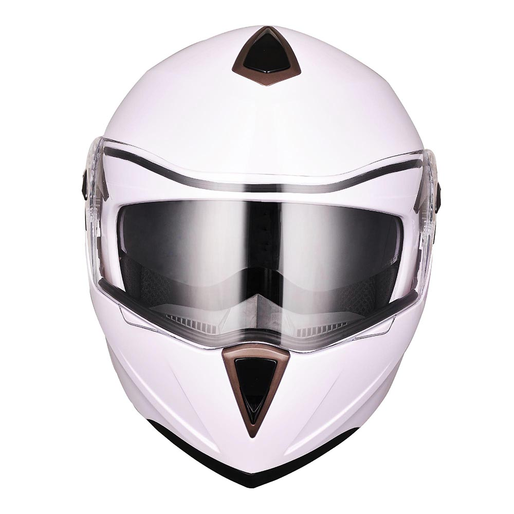 DOT-Flip-up-Modular-Full-Face-Motorcycle-Helmet-Dual-Visor-Motocross-Size-Opt thumbnail 155
