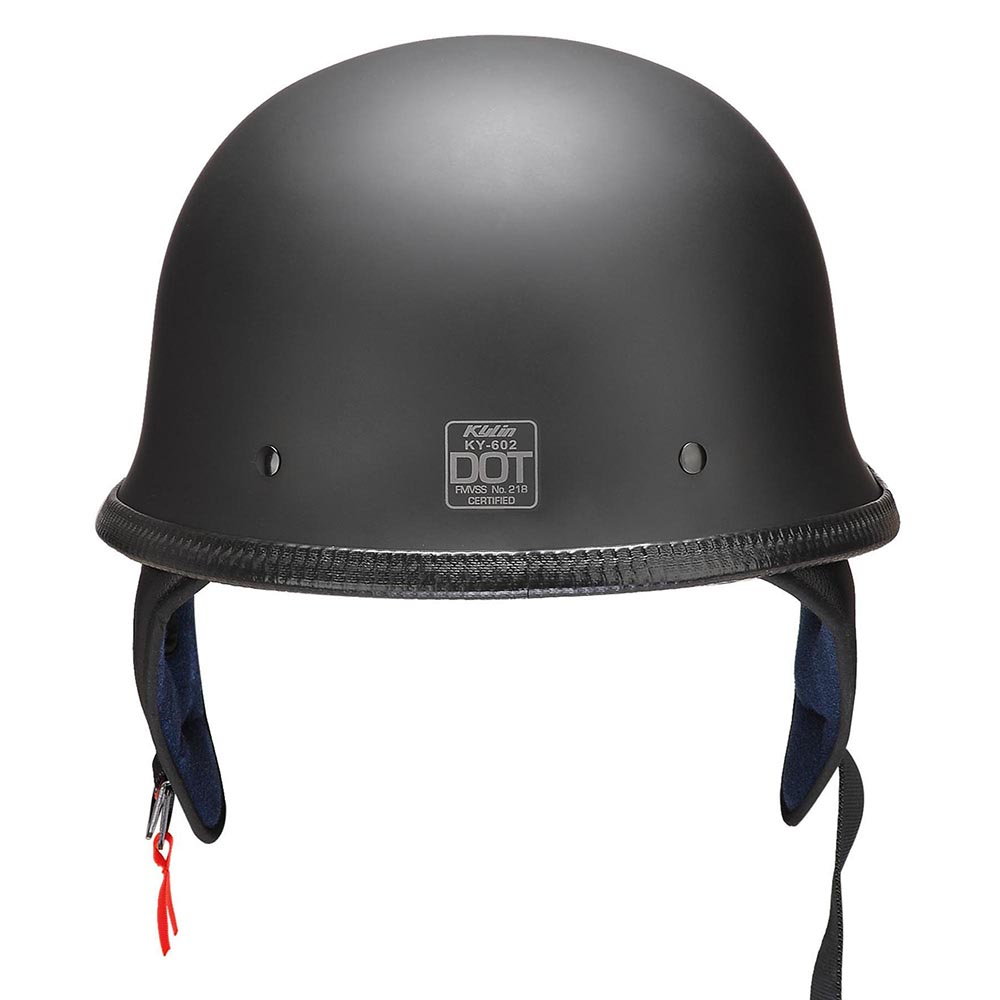 DOT-Motorcycle-German-Half-Face-Helmet-Matte-Black-Chopper-Cruiser-Biker-M-L-XL thumbnail 10