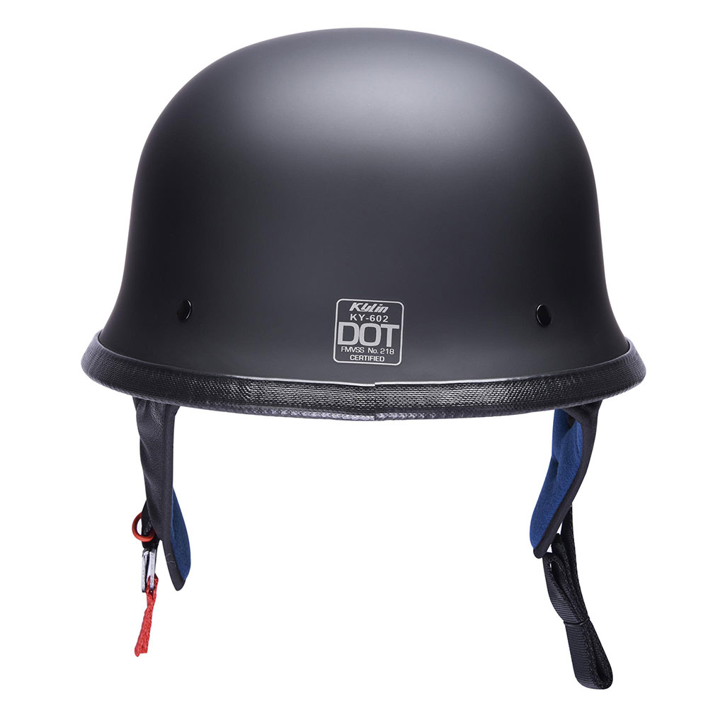 DOT-Motorcycle-German-Half-Face-Helmet-Matte-Black-Chopper-Cruiser-Biker-M-L-XL thumbnail 28