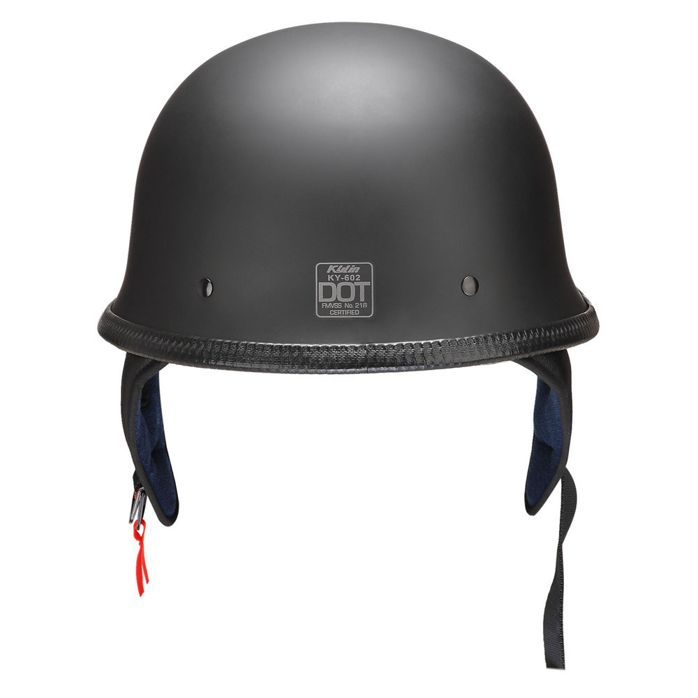 DOT-Motorcycle-German-Half-Face-Helmet-Matte-Black-Chopper-Cruiser-Biker-M-L-XL thumbnail 33