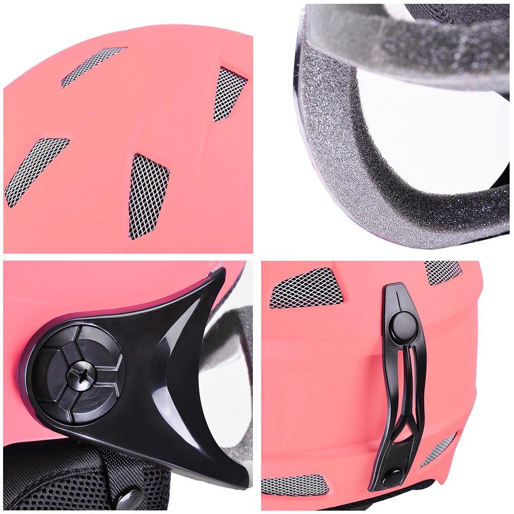 Adult-Kid-Snow-Sports-Helmet-Ski-Skateboard-Protection-w-Goggles-ASTM-Certified thumbnail 48