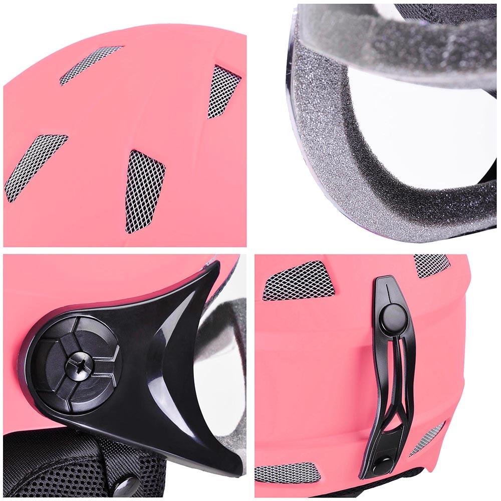 Adult-Kid-Snow-Sports-Helmet-Ski-Skateboard-Protection-w-Goggles-ASTM-Certified thumbnail 24