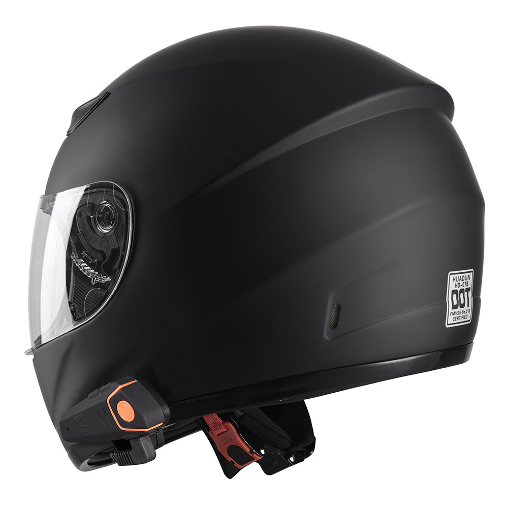 DOT-Motorcycle-Full-Face-Adult-Helmet-Size-M-XL-w-Bluetooth-Wireless-Headset thumbnail 45